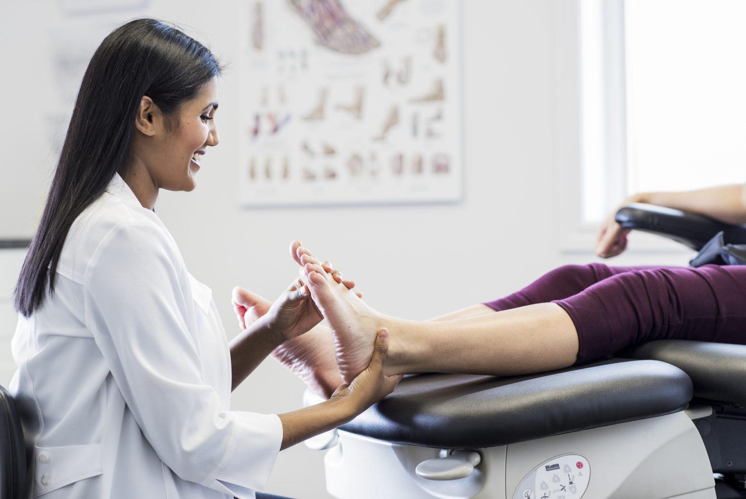 Examen biomécanique et postural